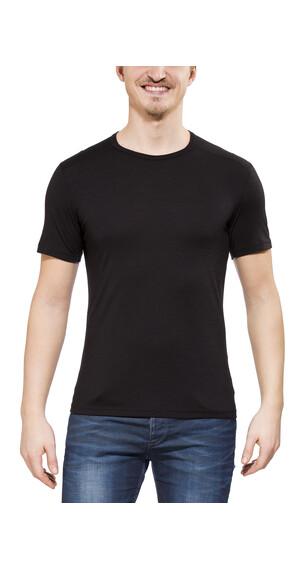 Icebreaker Oasis SS Crewe Shirt Men black